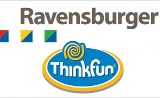 Ravensburger & Thinkfun logos