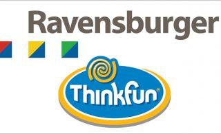 Ravensburger & Thinkfun logos