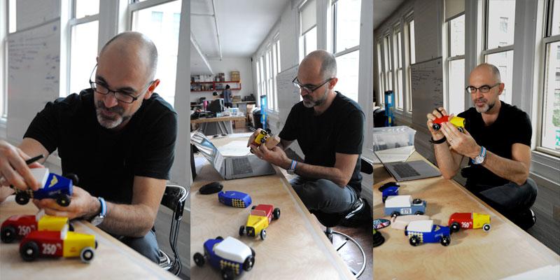 Vlad Dragusin in the studio