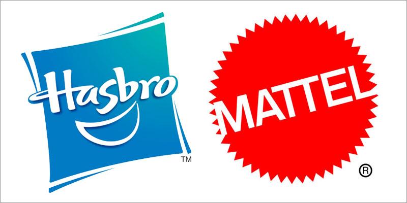 Hasbro & Mattel Logos