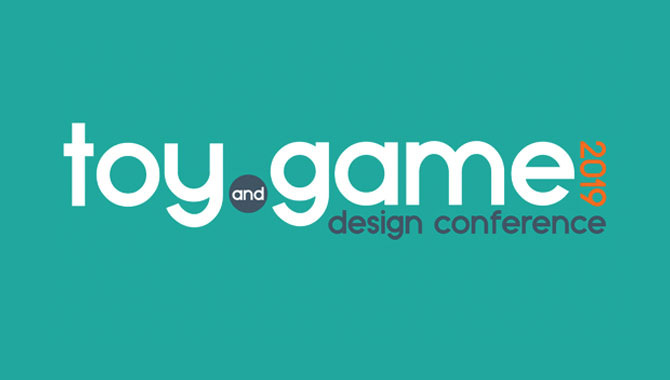 Toy and game design conference 2019 logo