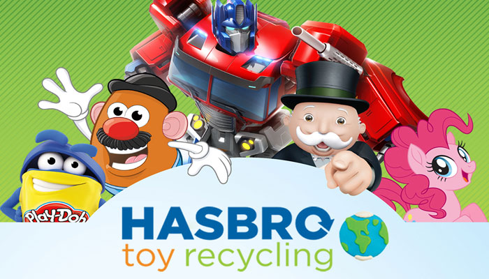 Hasbro Toy Recycling
