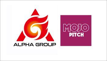 Alpha Group attend Mojo Pitch