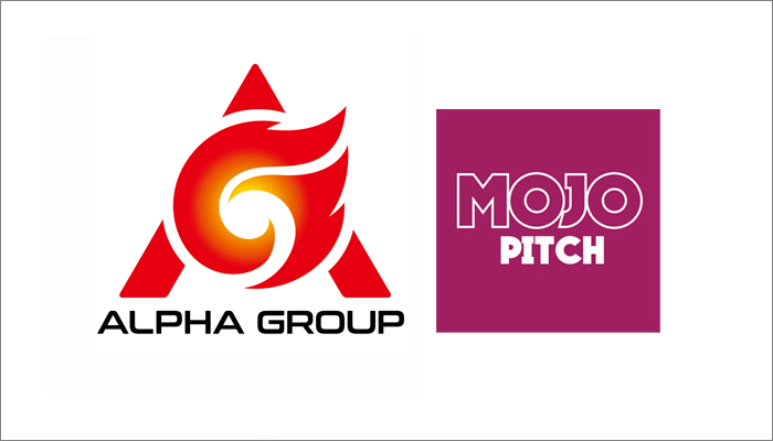 Alpha Group attend Mojo Pitch
