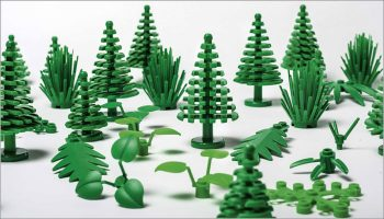 Eco Friendly - Lego Trees