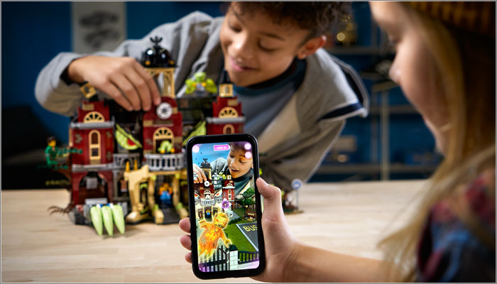 LEGO Hidden Side AR Play Experience