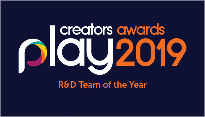 Play Creators Awards - R&D Team of the Year