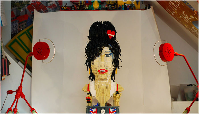 LEGO Amy Winehouse