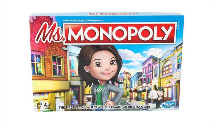 Ms Monopoly, Hasbro
