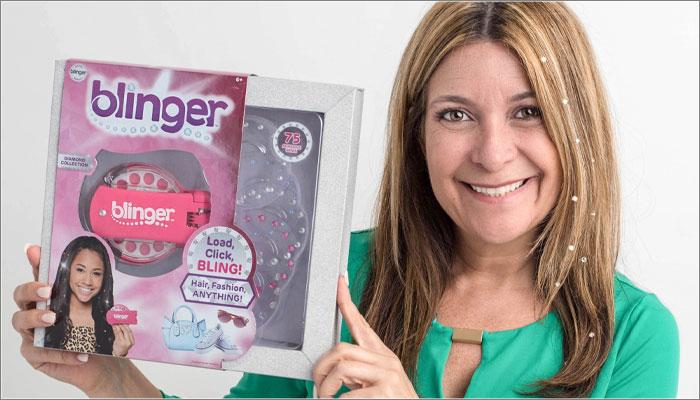 Angie Cella, Blinger