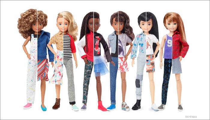 Mattel's Creatable World doll line
