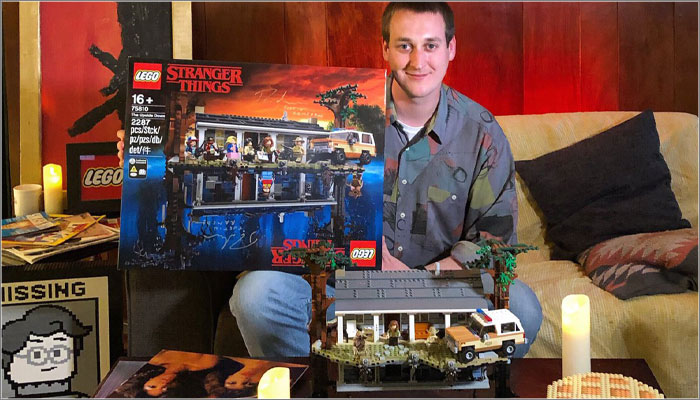 Justin Ramsden, LEGO