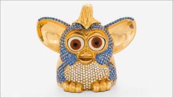 diamond-encrusted Furby