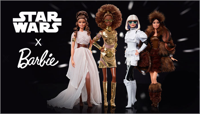 Mattel Debuts New Star Wars X Barbie Collection Mojo Nation