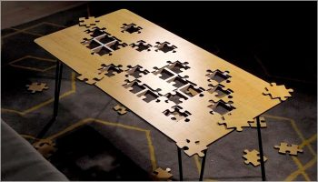 Jigsaw Puzzle Coffee Table