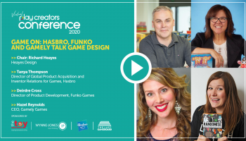 Game On: Hasbro, Funko and Gamely talk game design, Play Creators Conference
