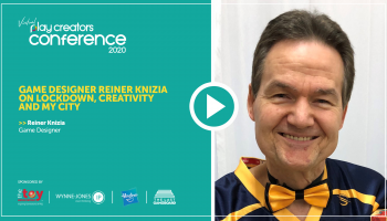 Game designer Reiner Knizia on lockdown, creativity and My City, Play Creators Conference