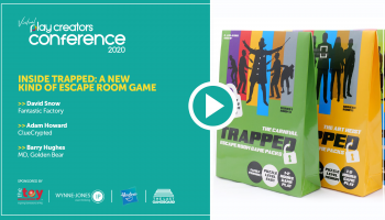 Inside Trapped - A New Kind of Escape Room Game, Play Creators Conference