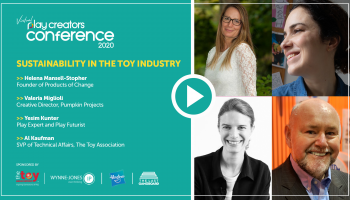 Sustainability in the Toy Industry, Play Creators Conference