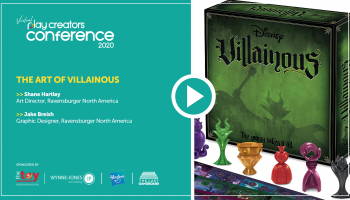 The Art of Villainous, Play Creators Festival