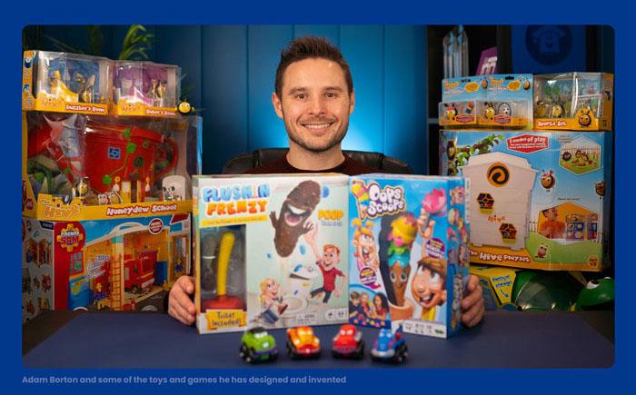 Adam Borton, Toy and Game School