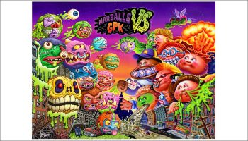 Madballs vs Garbage Pail Kids
