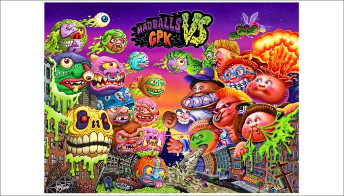 Madballs vs Garbage Pail Kids