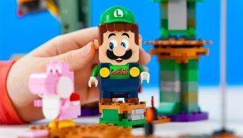 LEGO, Luigi, Super Mario