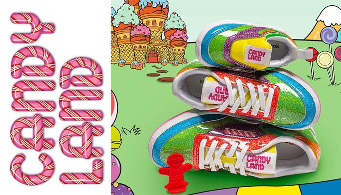 Reebok, Hasbro, Candy Land