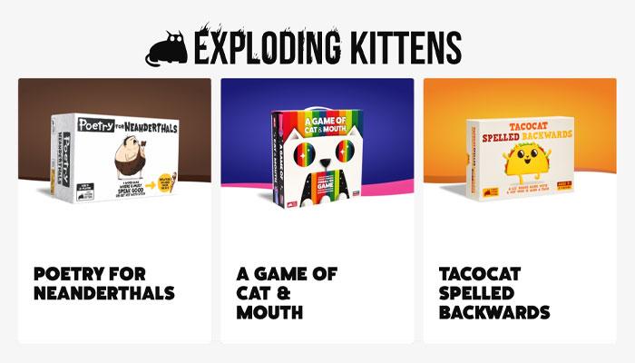 Ken Gruhl, Exploding Kittens
