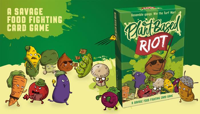 Bubblegum Stuff, Plant-Based Riot
