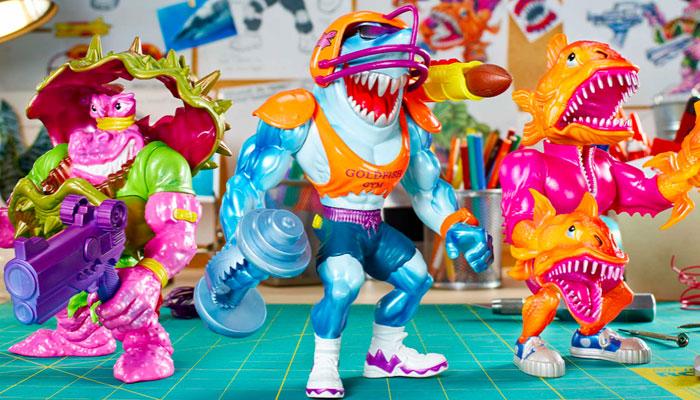 Street Sharks, Mattel