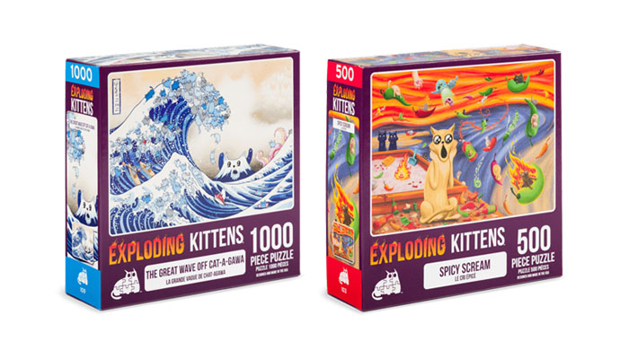 Exploding Kittens, Puzzle