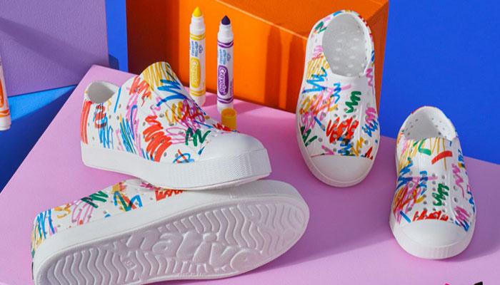 Gabe Lam, native Shoes, Crayola