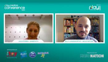 Julia, Posen, Monopoly Lifesized, Play Creators Conference